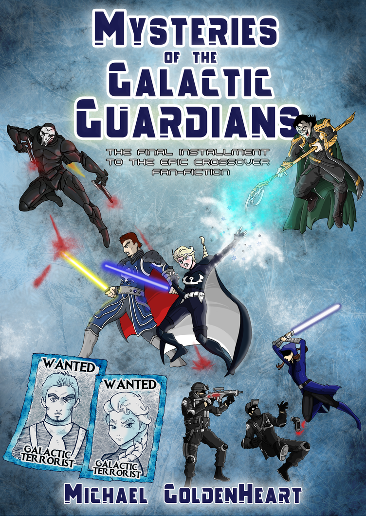 Mysteries of the Galactic Guardians Cover by Miguelhan