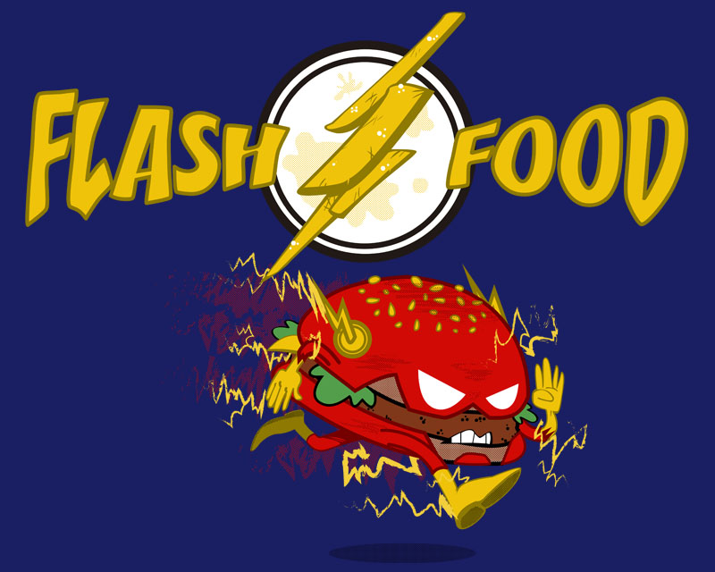 Flash Food by Miguelhan