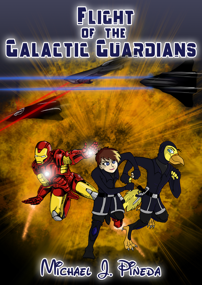 Flight of the Galactic Guardians Cover by Miguelhan
