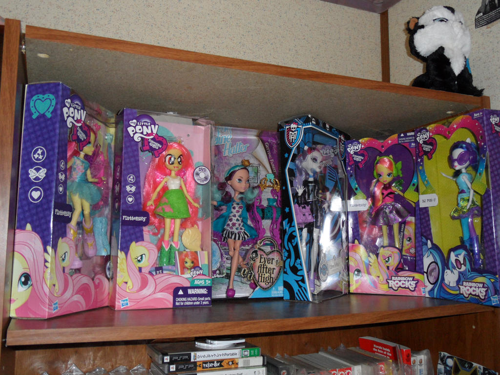 My Doll collection as of 11/9/2014 by AshleyFluttershy