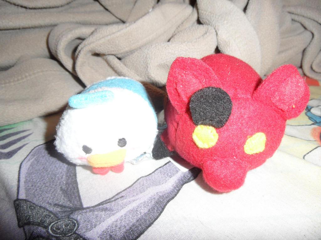 Foxy Tsum Tsum Custom plush FNAF by AshleyFluttershy