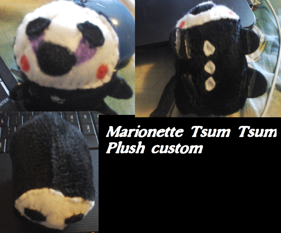 Marionette Tsum Tsum custom plush by AshleyFluttershy