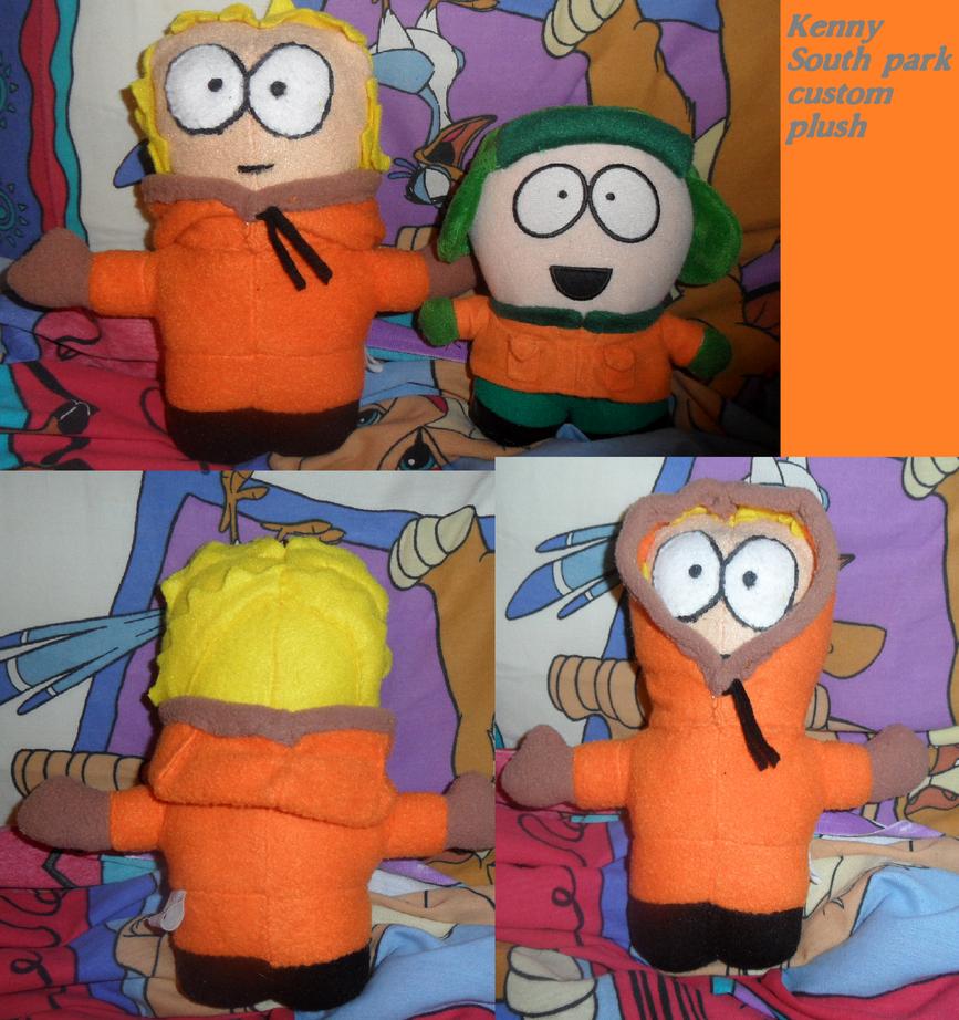 Kenny South park custom plush by AshleyFluttershy