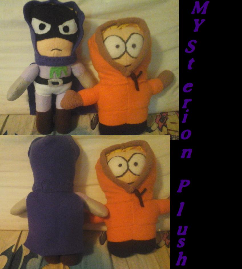 Mysterion custom plush by AshleyFluttershy