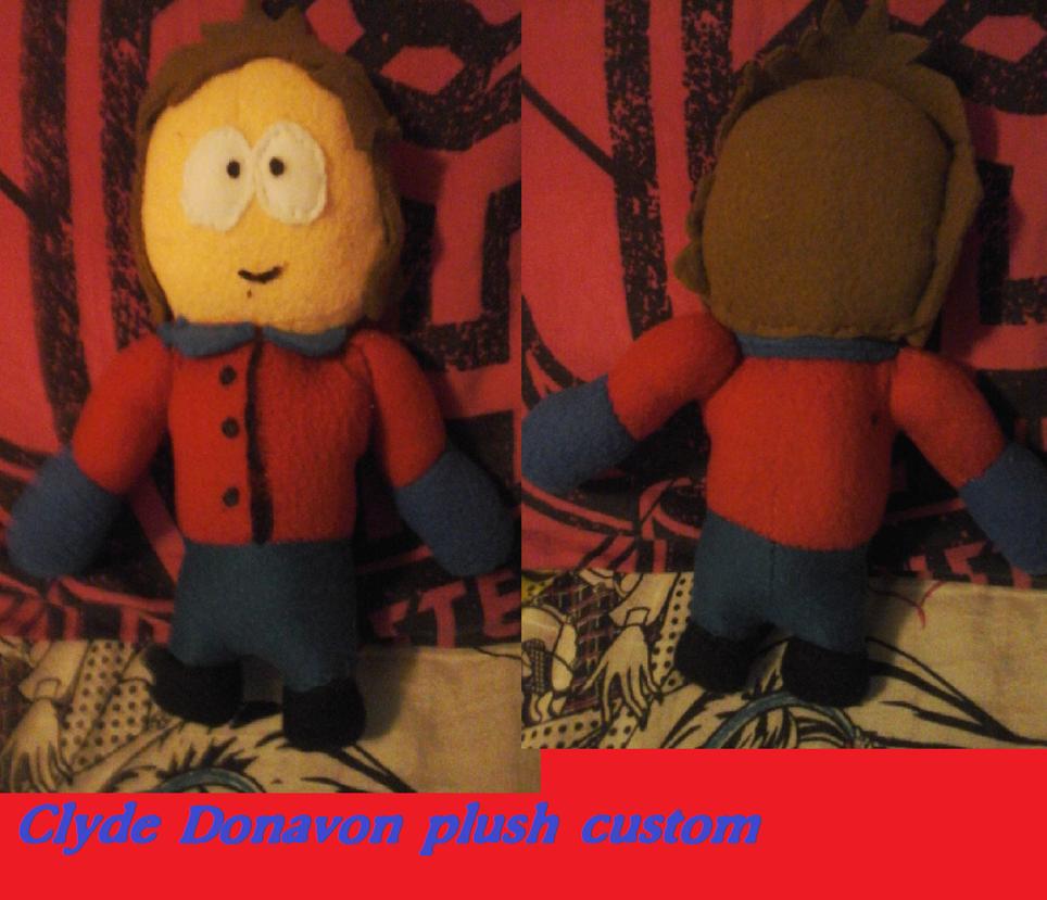 Clyde plush custom South park by AshleyFluttershy