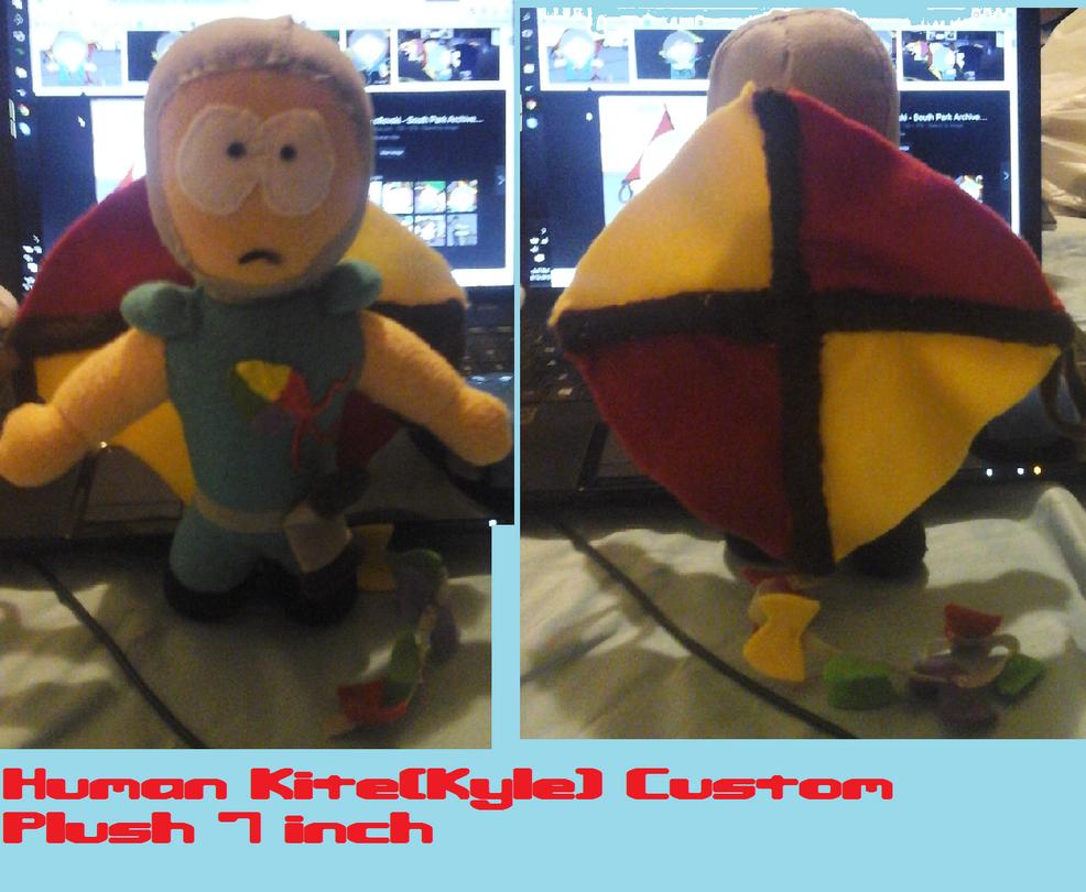 Human Kite(kyle) South park handmade Plush by AshleyFluttershy
