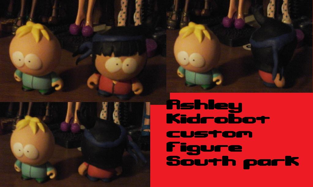 Ashley SP style Kidrobot custom figure by AshleyFluttershy