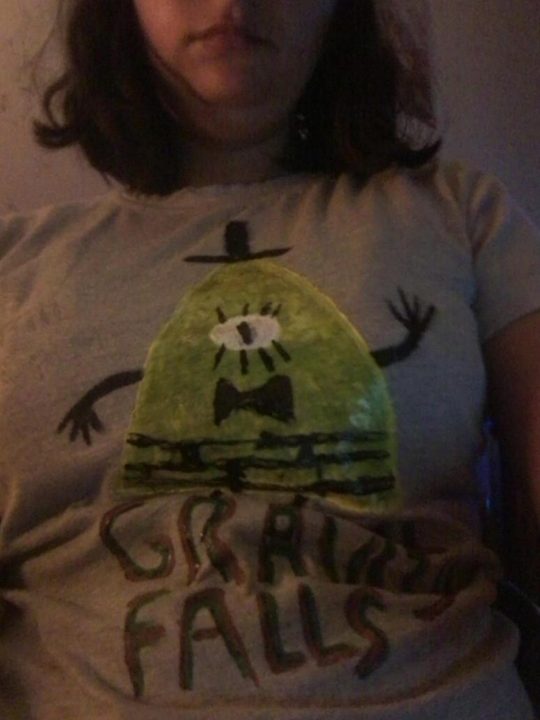 Custom Gravity Falls Bill T shirt by AshleyFluttershy