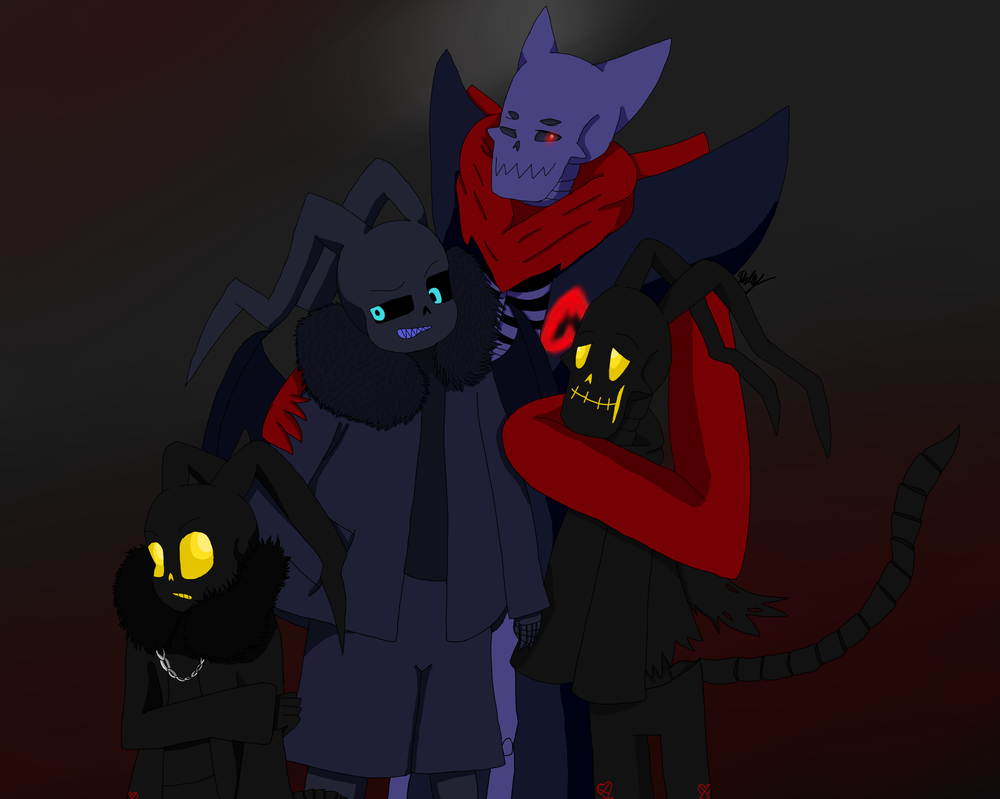 Heartless And Underdarkness group photo by AshleyFluttershy