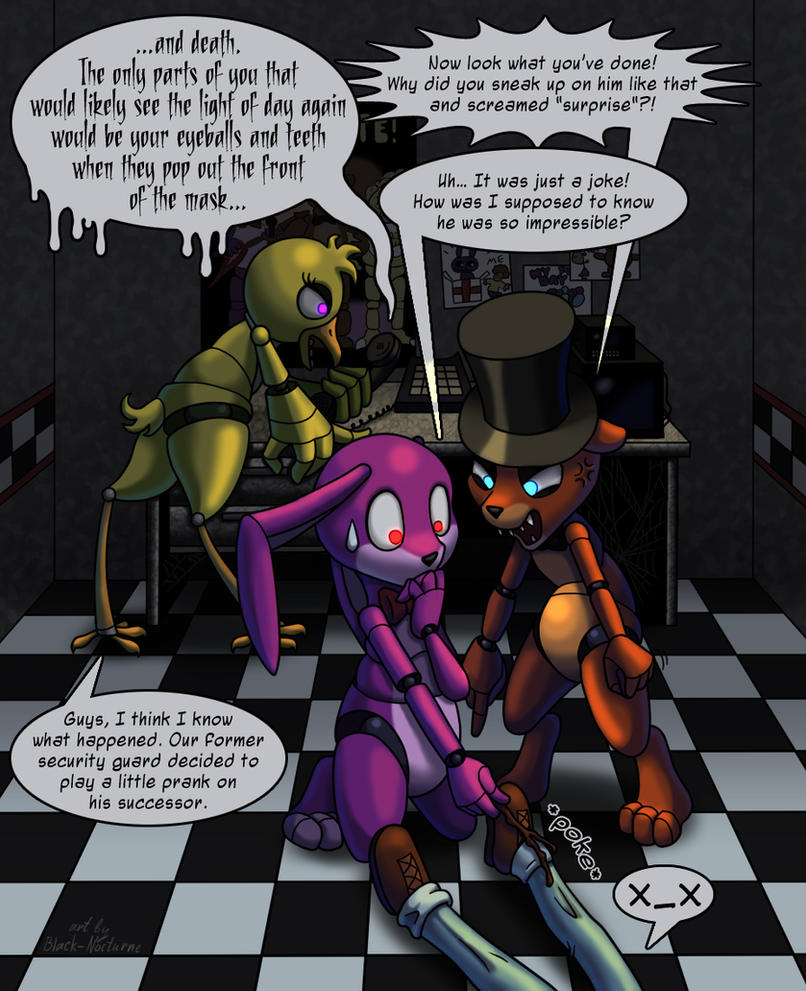 FNAF Alternative Story by Black-Nocturne