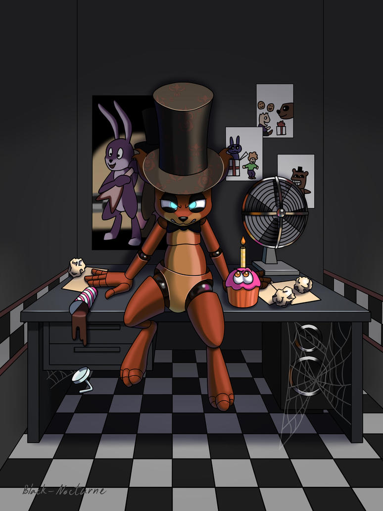 Freddy in the Office by Black-Nocturne