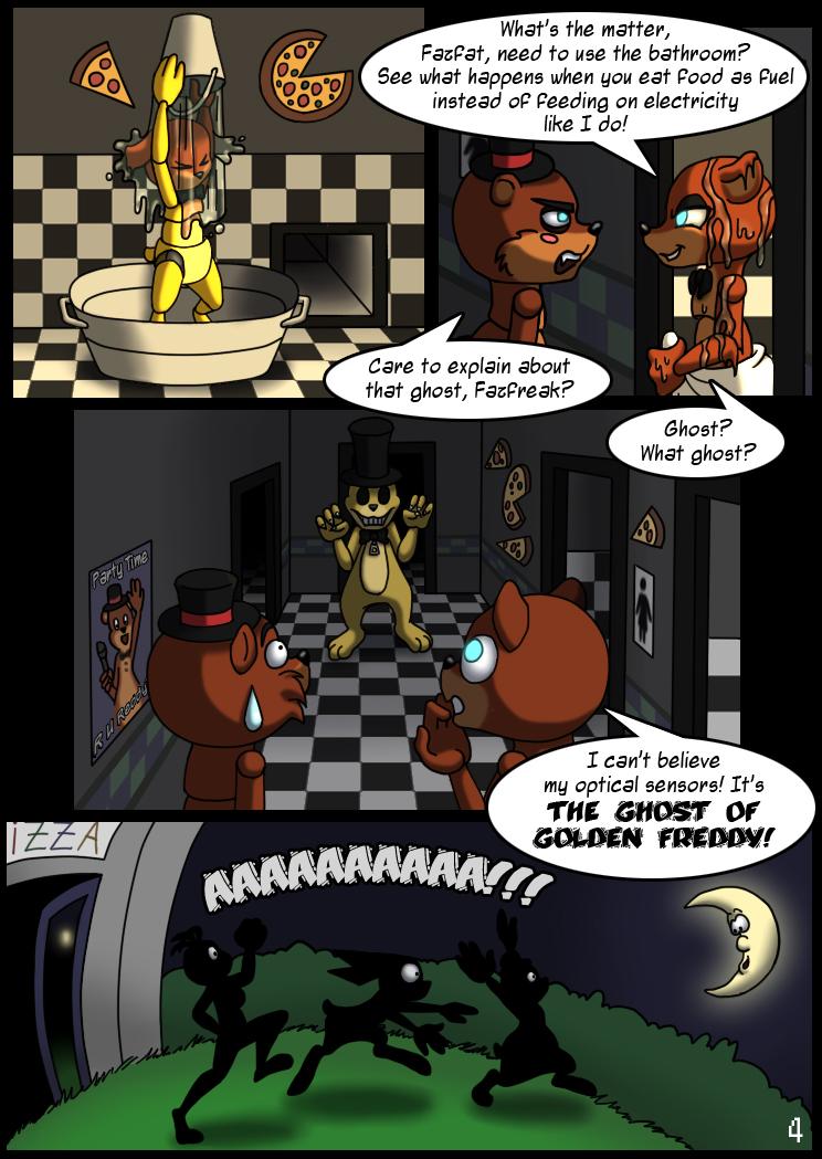 пять ночей с фредди комиксы картинки