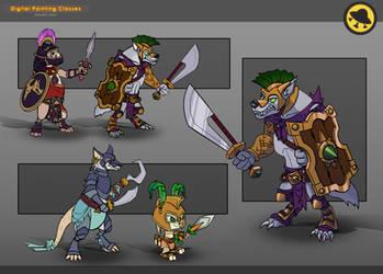 Animal Gladiators by Black-Nocturne