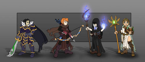 Fantasy Characters by Black-Nocturne