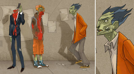 Zombies.. by The-Brett