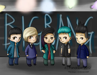 BIGBANG ALIVE by Pandapin