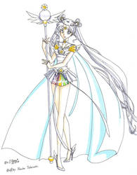 Sailor Cosmos by GorgeousPixie