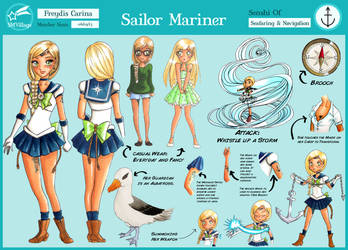 Sailor Mariner SMV reference by GorgeousPixie