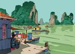 Vietnam - Halong Bay by olivier2046