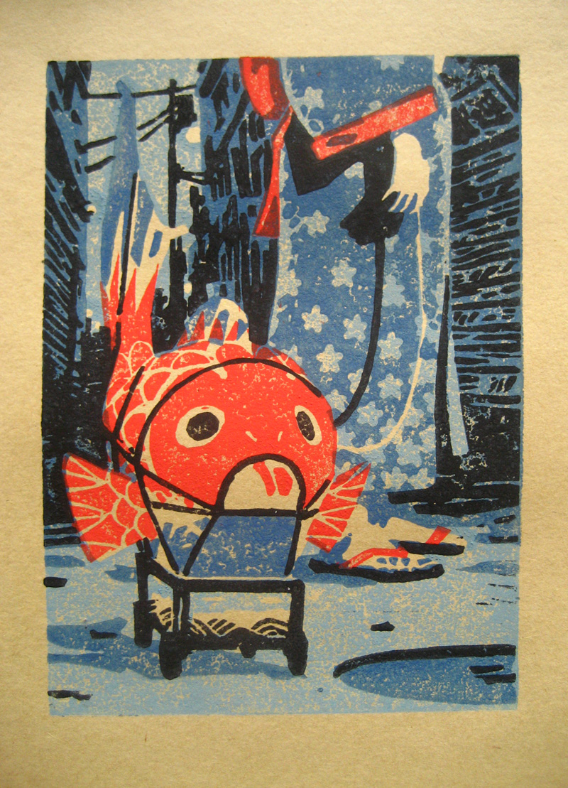 The Fish Lantern - print test by olivier2046 on DeviantArt