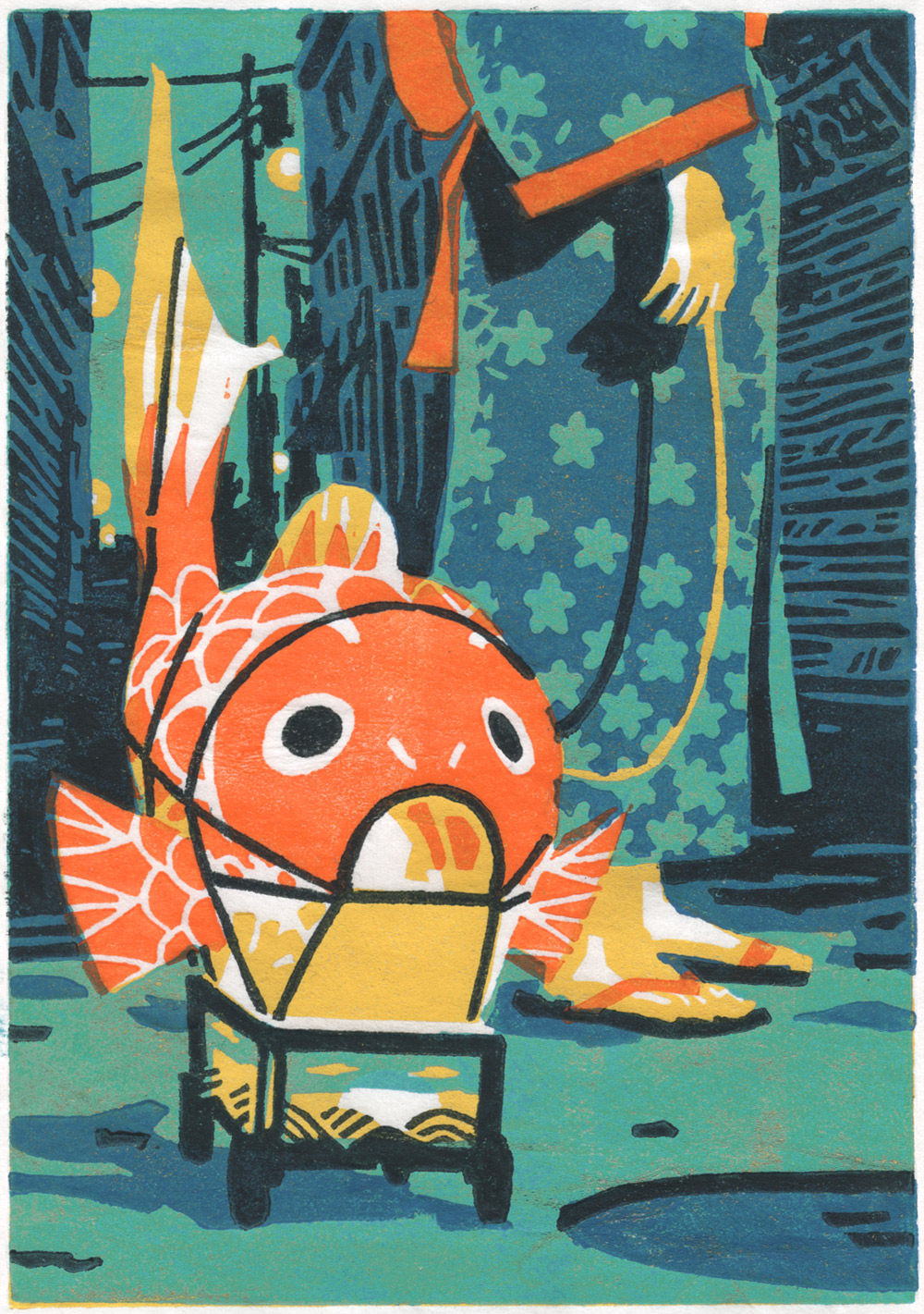 The Fish Lantern by olivier2046