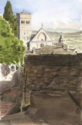 Assisi - Vicolo San Lorenzo