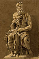 Moses, Michelangelo Buonarroti by olivier2046