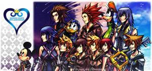 .: Kingdom Hearts 15th Anniversary :. by gingie-liu