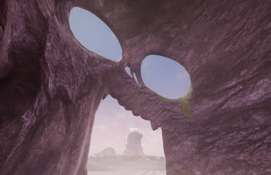 Master Degree - Neverland - Inside The Skull Rock by bdec