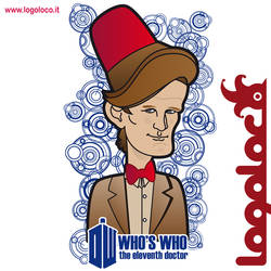 Doctor Who: Who's Who, Matt Smith - 11th doctor by logolocoadv