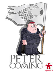 Family Guy vs Game of Thrones: Peter Griffin by logolocoadv