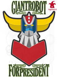 manga robots: grendizer aka goldrake by logolocoadv