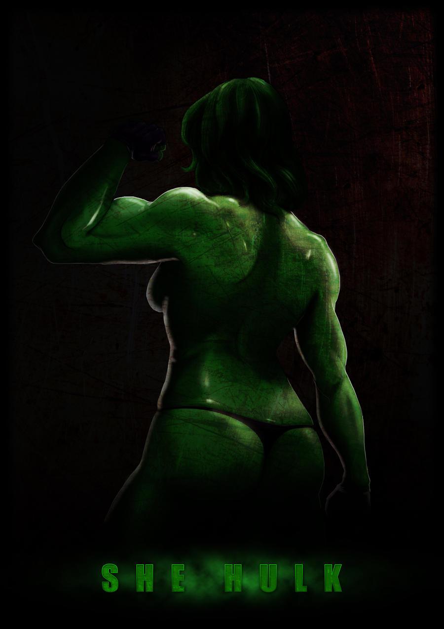 She Hulk by HaryosoRiyadhi on DeviantArt
