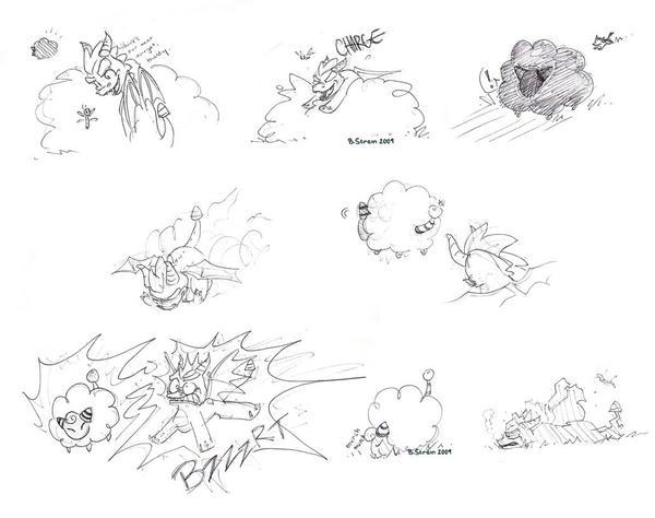 Spyro's Comeuppance by floppyneko