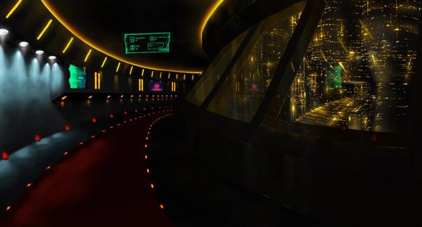 Colonyship interior by Kainoss