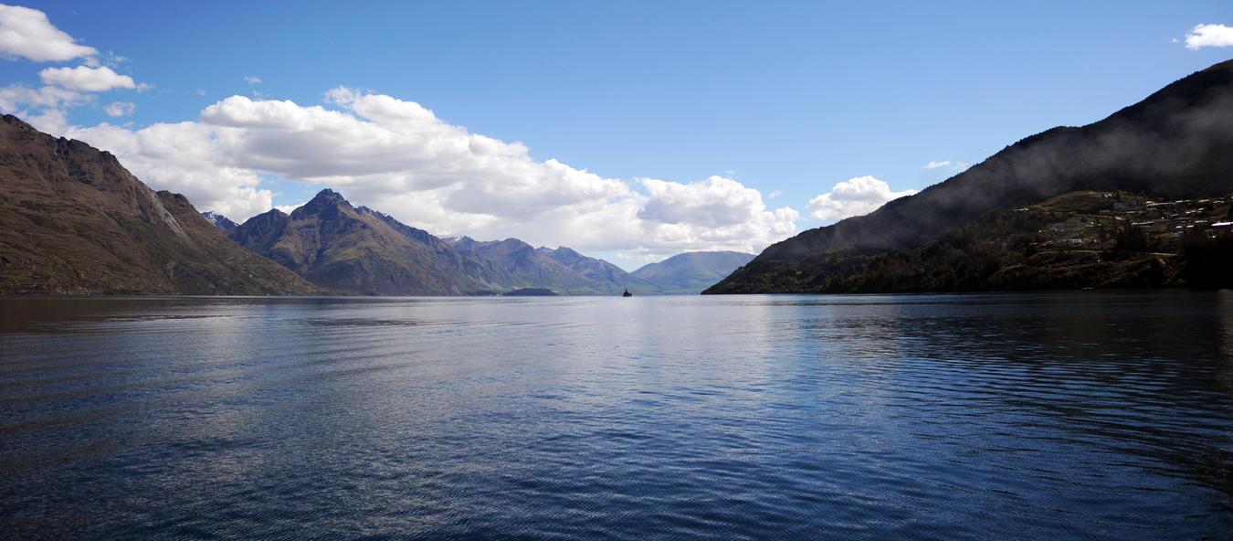 Lake Wakatipu Queenstown New Zealand By Mekf On Deviantart