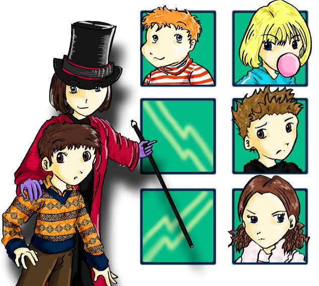 Charlie and the Chocolate Factory favourites by watervampire on ...