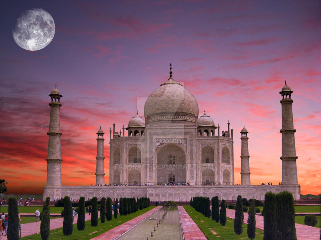 Taj Mahal Pictures Scenic Travel Photos: Photoshop Exercise By Fancraft On DeviantArt