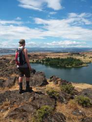 Butte Overlook by cjosborn