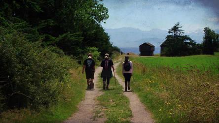 Family Hike Day by cjosborn