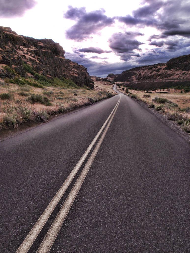 Winding Road by cjosborn