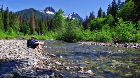 By the Creek by cjosborn