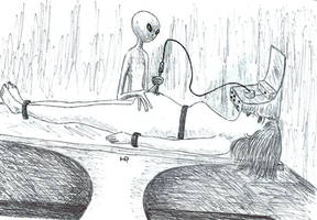 Invasive Surgery by MyAlienAbductionArt