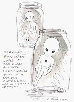 Alien Hybrid Foetuses