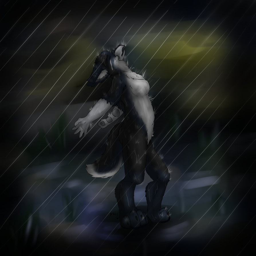 'Some People Feel The Rain... By DeJaBlu On DeviantArt