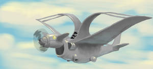 Creature plane by K-Bladin