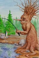 Fisherman tree by K-Bladin