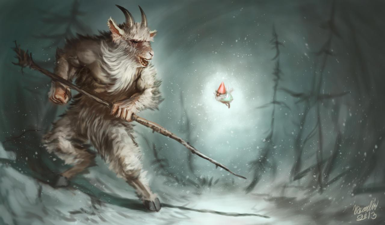 Stravične i jezive legende Goat_man_by_k_bladin-d5qndye