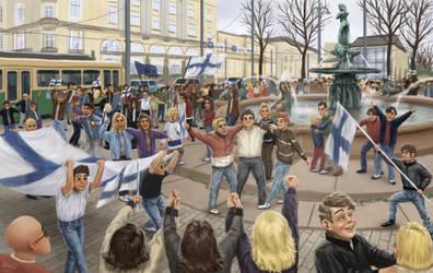Finnish celebration by K-Bladin