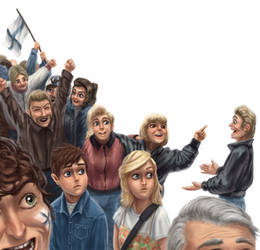 Celebrating people by K-Bladin
